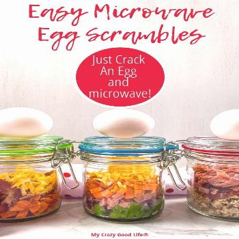 These Just Crack an Egg Copycat recipes are great for breakfast meal prep! They're healthy and inex