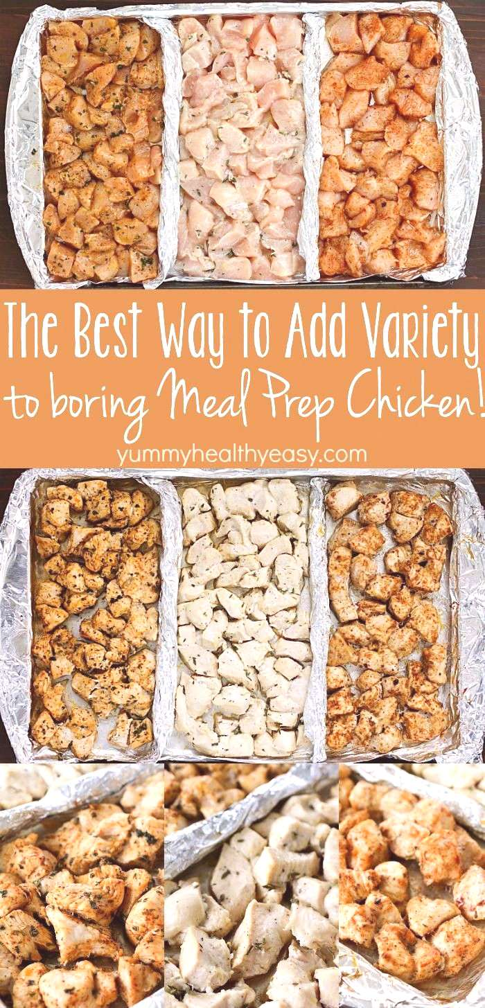 Add variety to that boring meal prep chicken with these three delicious clean-eating marinades! Sep