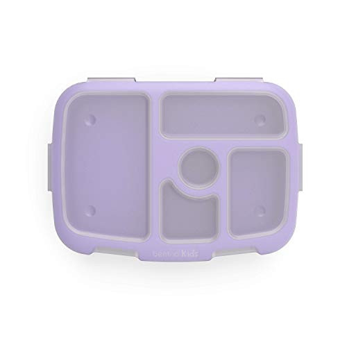 Bentgo Kids Prints Tray with Transparent Cover-Reusable,