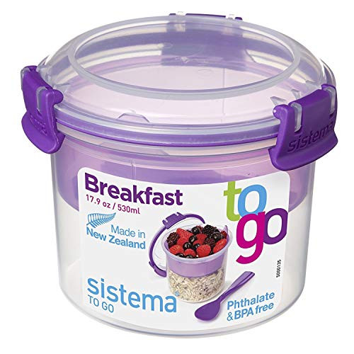 Sistema To Go Collection Breakfast Bowl Food Storage